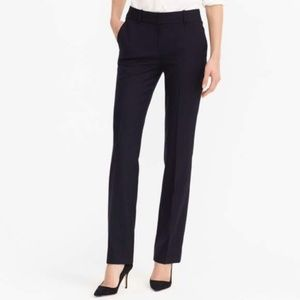 J. Crew Black Campbell Trousers